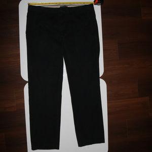 Banana Republic AIDEN Chino Pants 36x32 Black